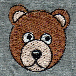 Fill Stitch Bear
